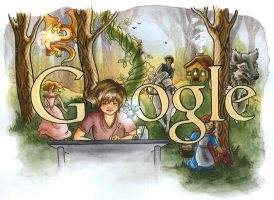 Doodle4Google - Illustration by TheLittlestNewsom