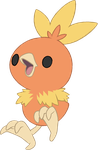~PokeBase~ Torchic by YukiMemories