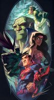 JLA by FabianMonk