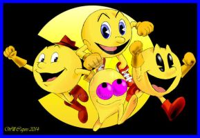 Pacmen by WillCapers