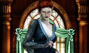 Abby-in-the-drawing-room by HeartOfDeath