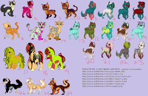Free Adoptable Sheet *CLOSED* by Annobethal