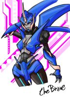Transformers Prime Arcee color by TheBrave