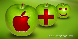 Revaline's Simple Apple Mac by regendra