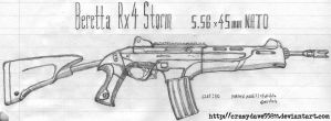 Beretta Rx4 Storm by CrazyDave55811