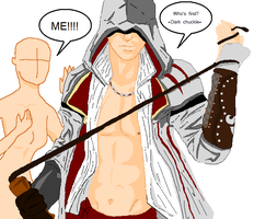 I'm first base Assassins Creed by queen-of-olympus