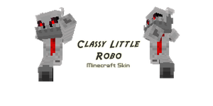 OC Minecraft Skin: Robot by Draken-leader