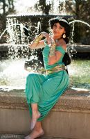 Princess Jasmine Custom Winter Cosplay by ReneeRouge