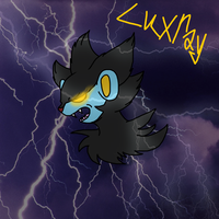 Luxray by Helkie-three