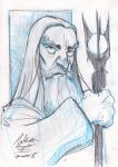 Saruman the White by AdamMasterman