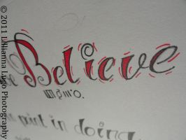 Believe by LillyonMARS