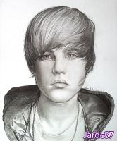 Justin Bieber Drawing by jardc87