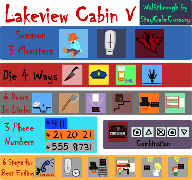 Lakeview Cabin V Best Ending A Guide by StayCalmCursory