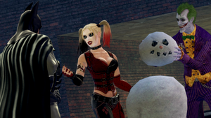 GMod Holiday 2012 - Batman, Harley and Joker by MrWhitefolks