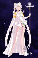 Sailor Cosmos (Gloved) by Lunakinesis