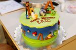 Angry Birds Cake by greensprout