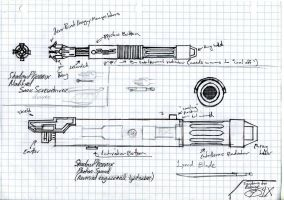 Personal Sonic ScrewDriver and Photon Sword by LeoCronis