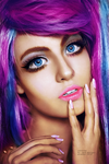 Colorize Punky Girl by shad-designs
