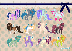 CHEAP MLP adoptables {7/12 open, cash and points} by ssubat