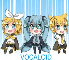 VOCALOID by NEZUMI-NA