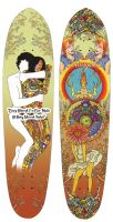 David Barnes Longboard Design by TheMacRat