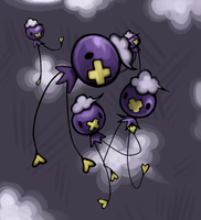 Some Drifloon by suicunedragon
