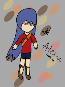 Alexia ReMade  by iiRainyDay
