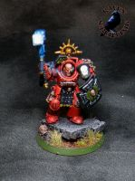 Blood Angels Assault Terminator Sergent by SoulRebel9