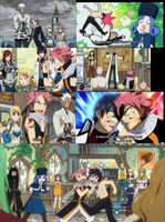 Fairy tail snapshots of Episode 141 best parts xD by Faithwoe