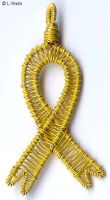 Military Support Ribbon by LWaite