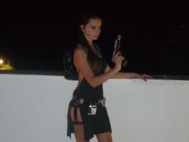 Tomb Raider Cosplay Legend Evening ripped dress by DayanaCroft