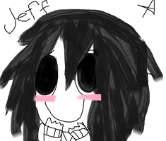 Jeff the Killer (Version Cute) by RacconJovis