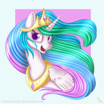 Celestia Portrait by SwanLullaby