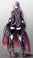 Cybernetic Lady by NaR447