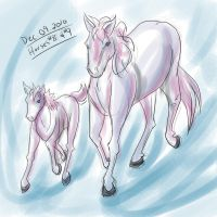 Horse a Day - Dec 09 by liliy