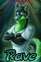 Badge Comish - Rave by TwilightSaint