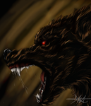 beware the hell hound by gaaraxel-13