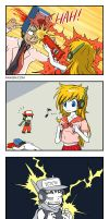 Cave Story 4koma 6 by hydrowing
