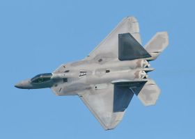 F-22 Raptor Shear Beauty by aero10