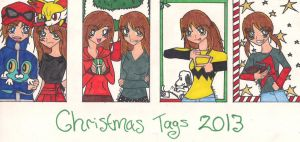 X-Mas Tags 2013 by rumiko18