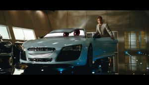 Tony stark.. and his trusted Audi R8 by auveiss