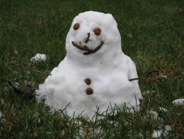 lil snowman by Muffinlover411