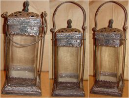 Indian Wrought Iron Lantern by FantasyStock