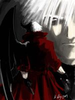 Dante, Half Demon by SteelfalconX