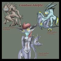 Creature Adopts CLOSED by Carlie-NuclearZombie