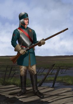 Valdaurian Match Lock Musketeer by RobbieMcSweeney