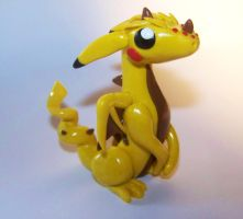Pikachu Dragon by ByToothAndClaw