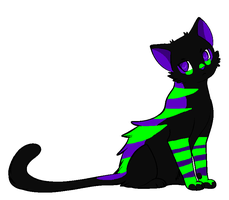 Free fantasy cat Adoptable 7 (CLOSED) by DetritusDroid