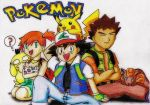 Pokemon Anime: Ash Ketchum, Misty, and Brock by GTS257-CT