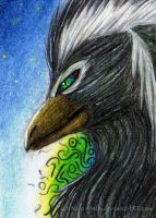AcEO-card 024: Lanthan by The-Purring-Teapot